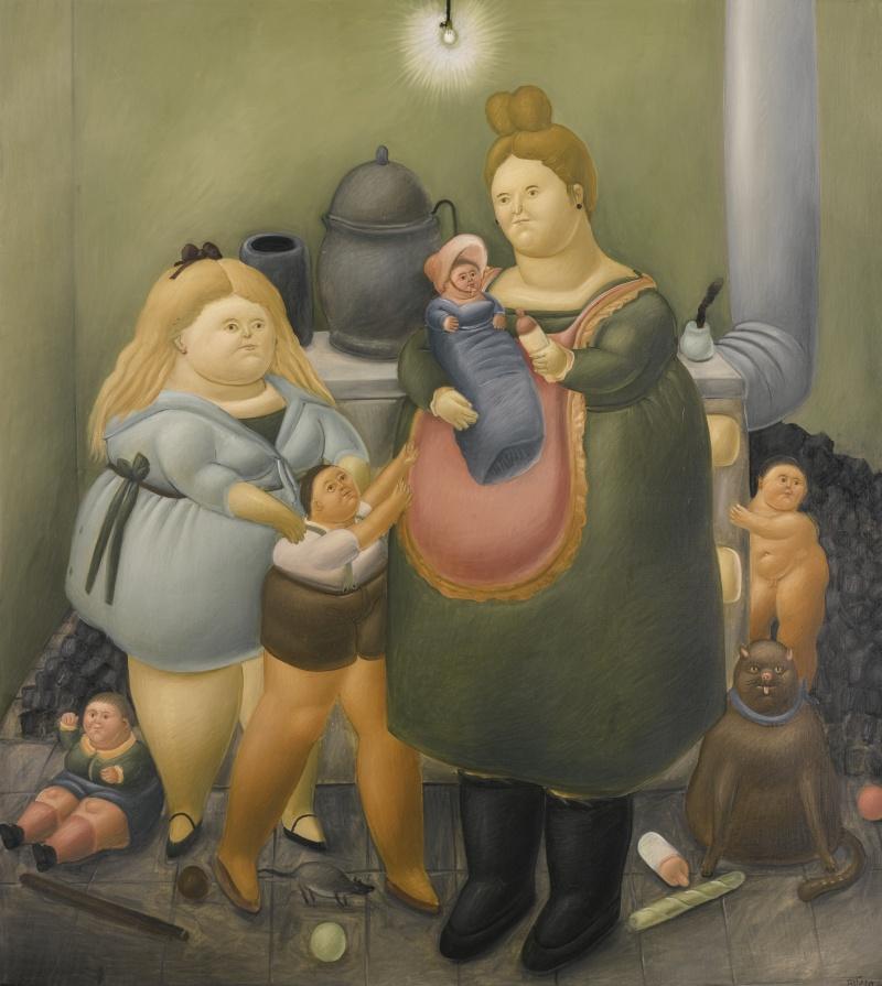 Vente chez Sotheby d'art moderne d'Amérique Latine le 19 et 20 novembre 2015 donc Botero Fernan14