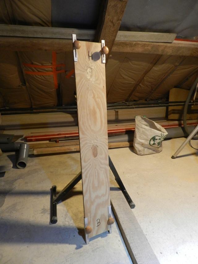 Invention d'un outil de mesure pour la pose de lambris entre les pannes de la charpente Vauvyr21