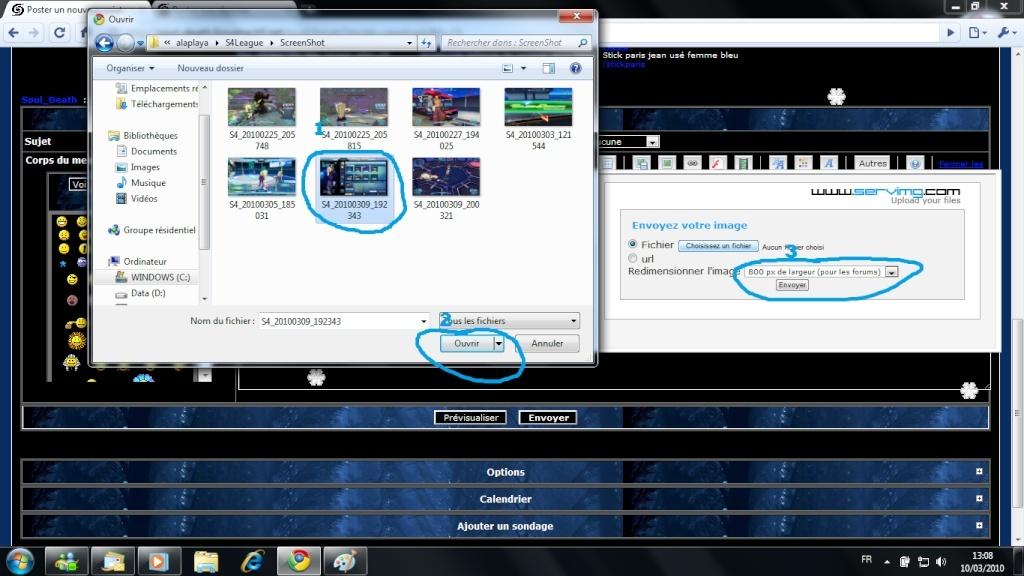 Comment montrer vos screens Tutu11