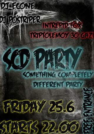 Something Completely Different Party With Postriper n' Econe 25.6 @ Intrepid Fox Af10