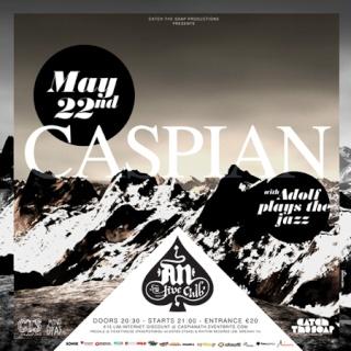 Caspian Live @ An Club 22/5/10 Poster11