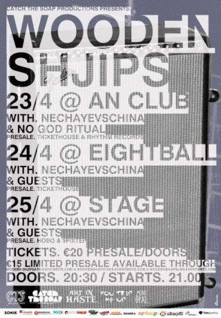 Wooden Shjips Live @ An Club and 8ball 23-24/4/10 Slabss10