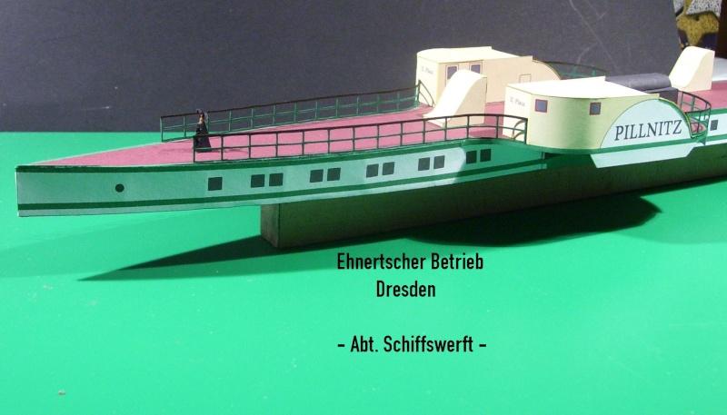"""Dampfer """"Pillnitz"""" von 1884 - detailliertes Modell - M 1:120 - Seite 2 02110"""
