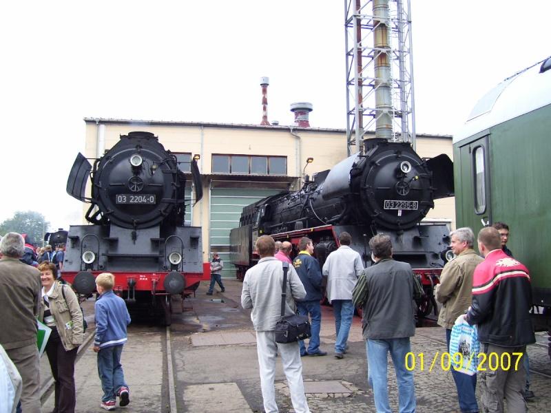 Zwei Pazifics der deutschen Bahnen: BR 01 und 03 03-210