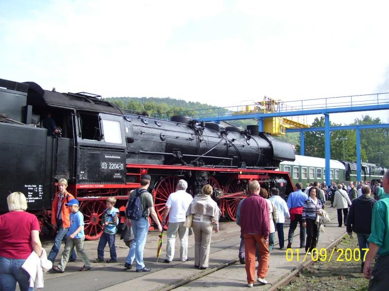 Zwei Pazifics der deutschen Bahnen: BR 01 und 03 03-310