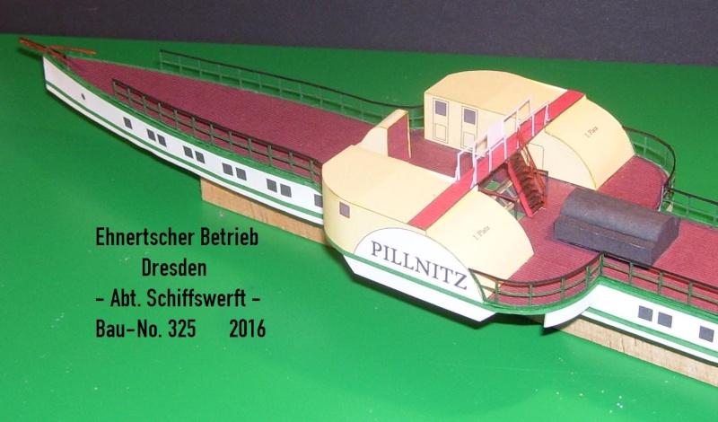 """Dampfer """"Pillnitz"""" von 1884 - detailliertes Modell - M 1:120 - Seite 2 03010"""