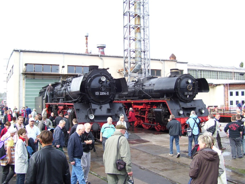 Zwei Pazifics der deutschen Bahnen: BR 01 und 03 0310