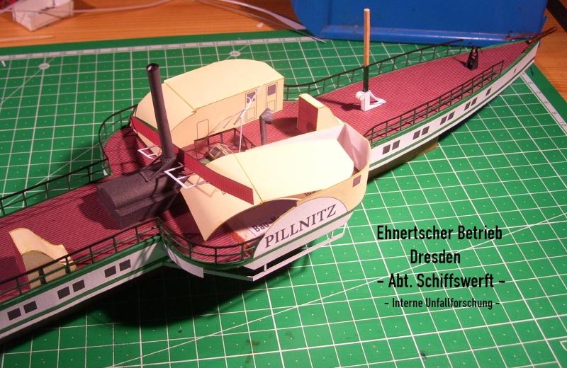 """Dampfer """"Pillnitz"""" von 1884 - detailliertes Modell - M 1:120 - Seite 2 03710"""