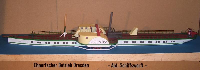 """Dampfer """"Pillnitz"""" von 1884 - detailliertes Modell - M 1:120 - Seite 2 04010"""
