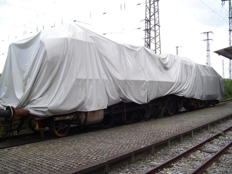 Fahrzeuge auf dem Außengelände im DB-Museum 100_2910