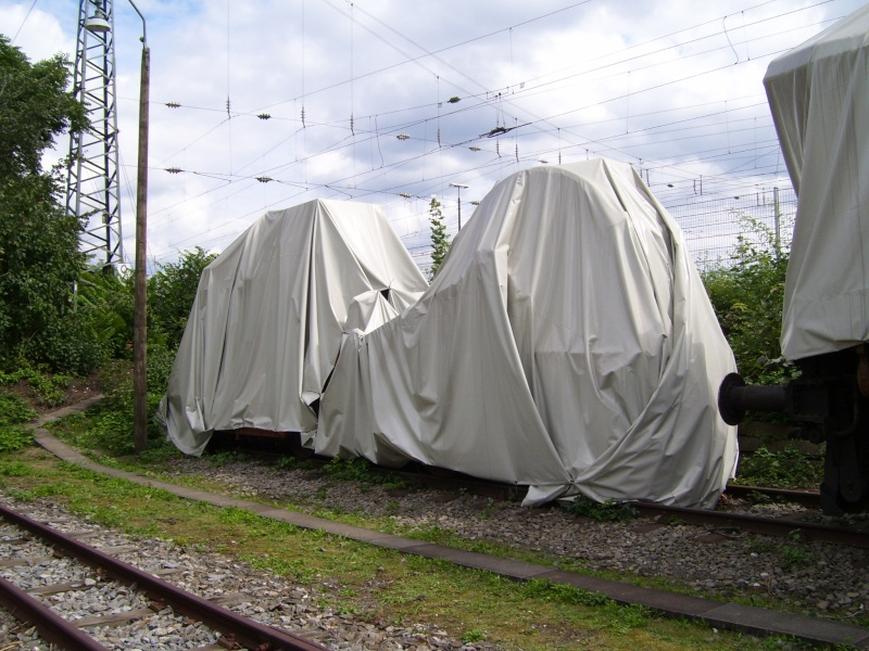 Fahrzeuge auf dem Außengelände im DB-Museum 100_2914