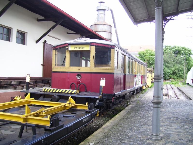Fahrzeuge auf dem Außengelände im DB-Museum 100_2916