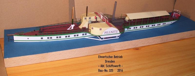 """Dampfer """"Pillnitz"""" von 1884 - detailliertes Modell - M 1:120 - Seite 2 100_6125"""