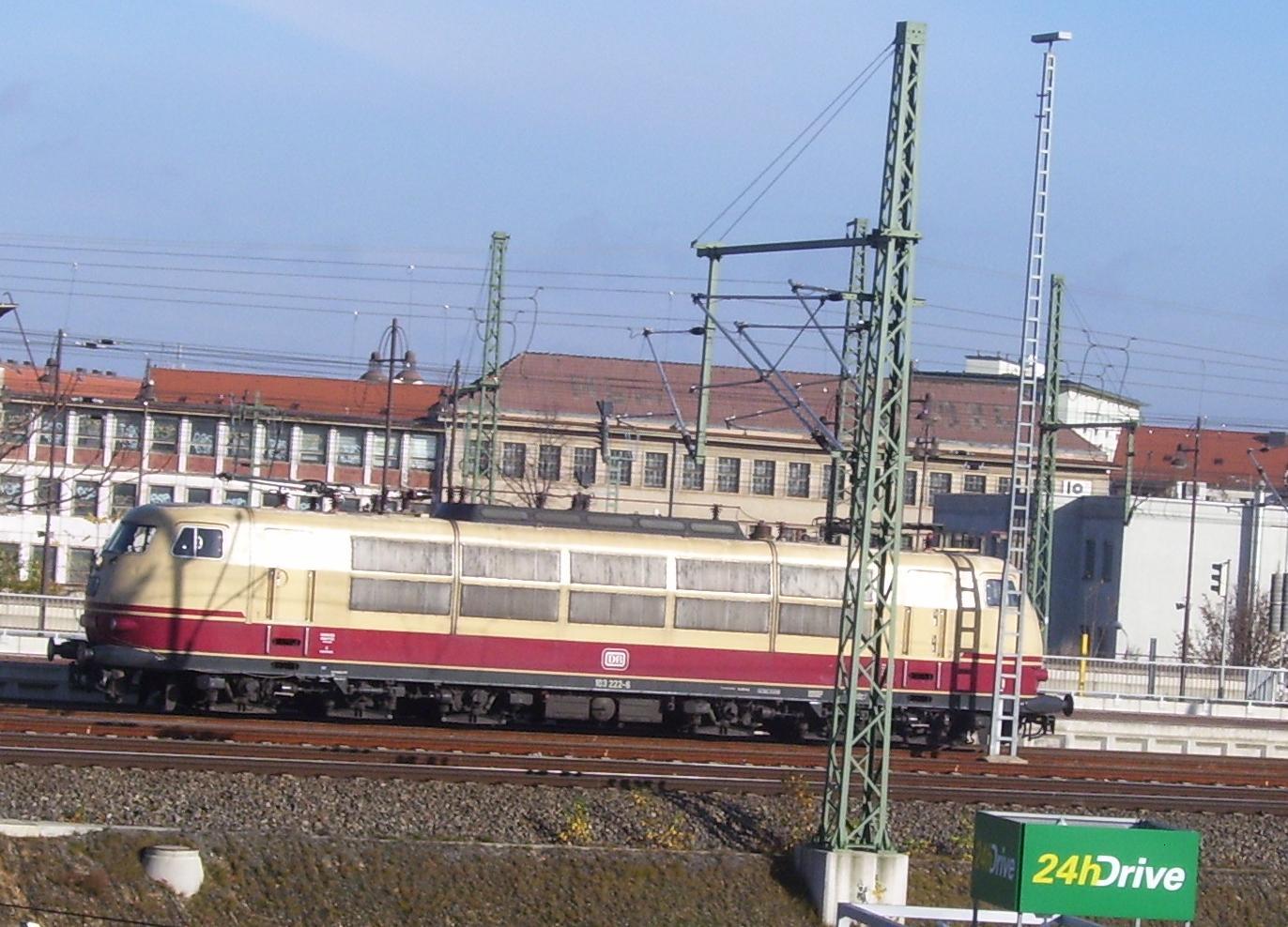 Meine Bilder von der modernen Bahn 103-2010