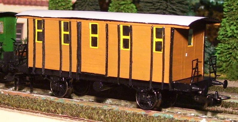 Behelfs-Personenwagen der K. Sächs. Sts. E.B. in HO  die zweite - Seite 5 149-1018