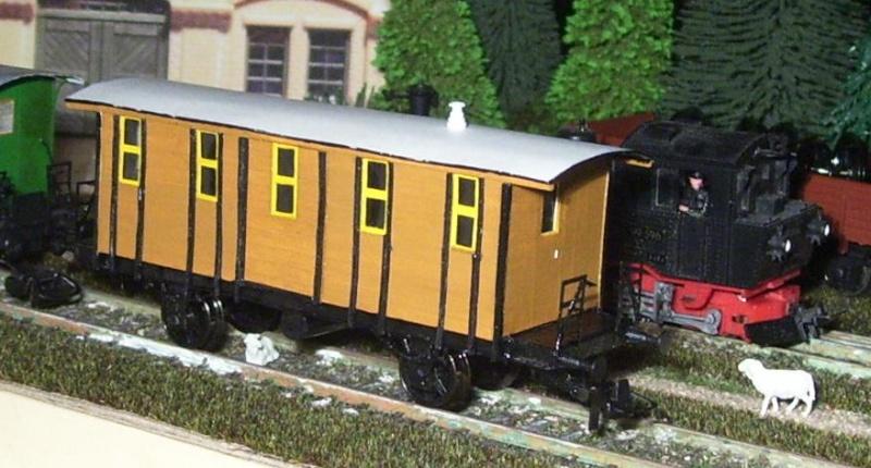Behelfs-Personenwagen der K. Sächs. Sts. E.B. in HO  die zweite - Seite 5 149-1111