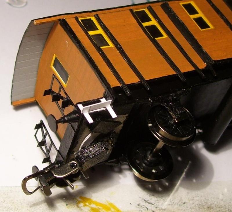 Behelfs-Personenwagen der K. Sächs. Sts. E.B. in HO  die zweite - Seite 5 149-1113