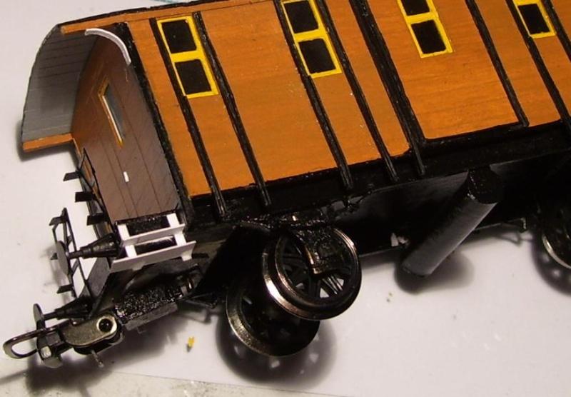 Behelfs-Personenwagen der K. Sächs. Sts. E.B. in HO  die zweite - Seite 5 149-1115