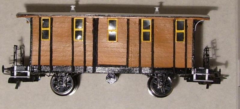 Behelfs-Personenwagen der K. Sächs. Sts. E.B. in HO  die zweite - Seite 5 149-1116