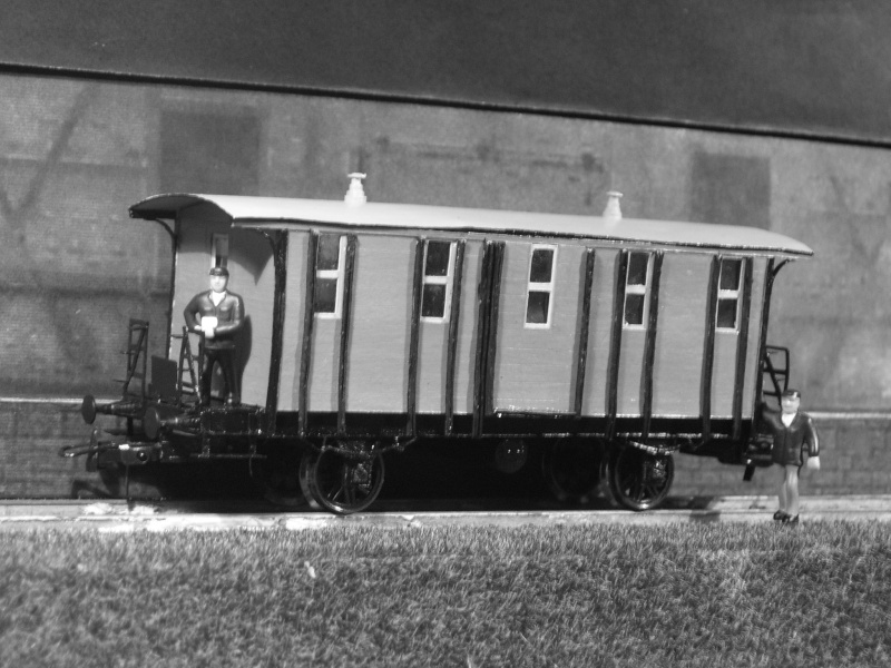 Galeriebilder zweiter sä. Behelfspersonenwagen in HO 149-1212