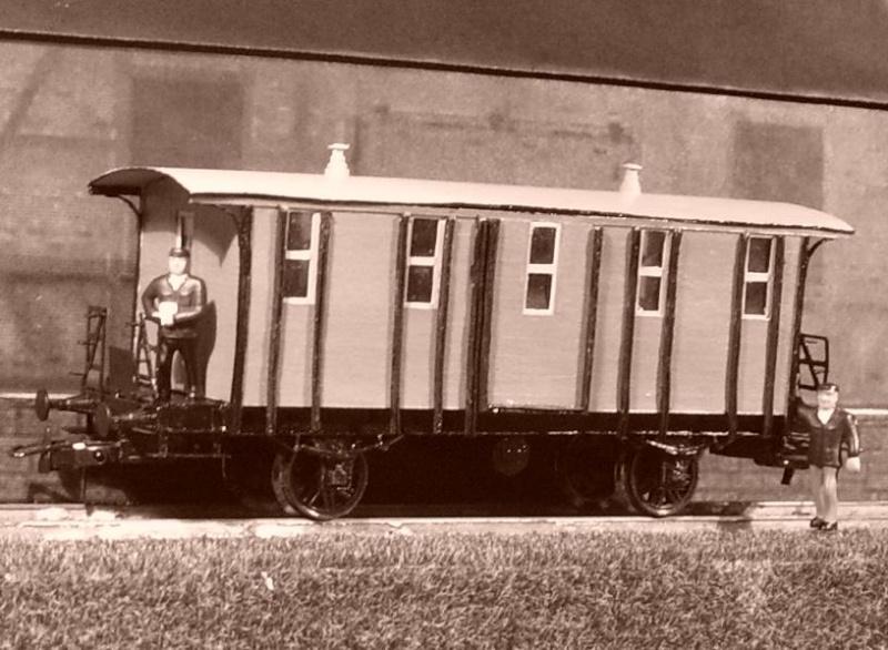Galeriebilder zweiter sä. Behelfspersonenwagen in HO 149-1213