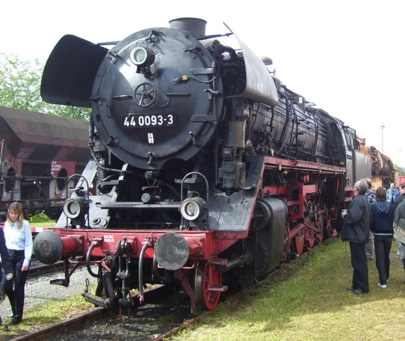 Die Dampflokbaureihe 44Öl - spätere DB 043 15110