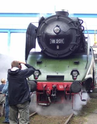18 201 - Die schnellste betriebsfähige Dampflok der Welt 1820110