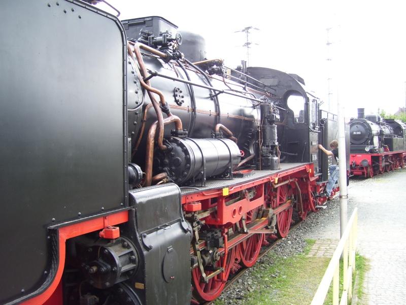Fahrzeuge auf dem Außengelände im DB-Museum 38-0210
