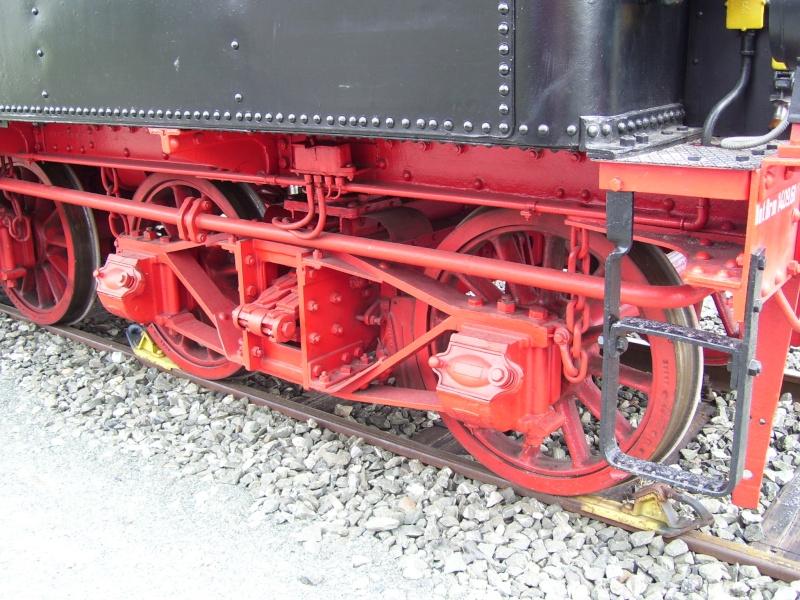 Fahrzeuge auf dem Außengelände im DB-Museum 38-0310