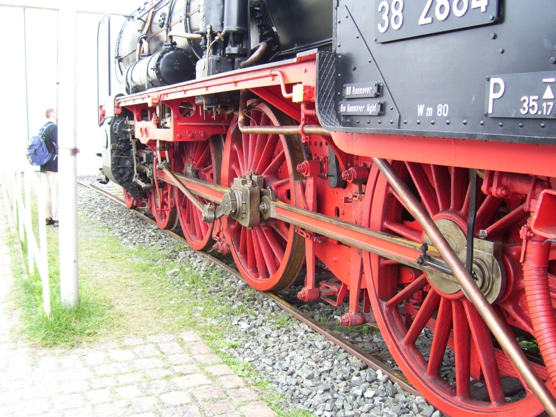 Fahrzeuge auf dem Außengelände im DB-Museum 38-0610