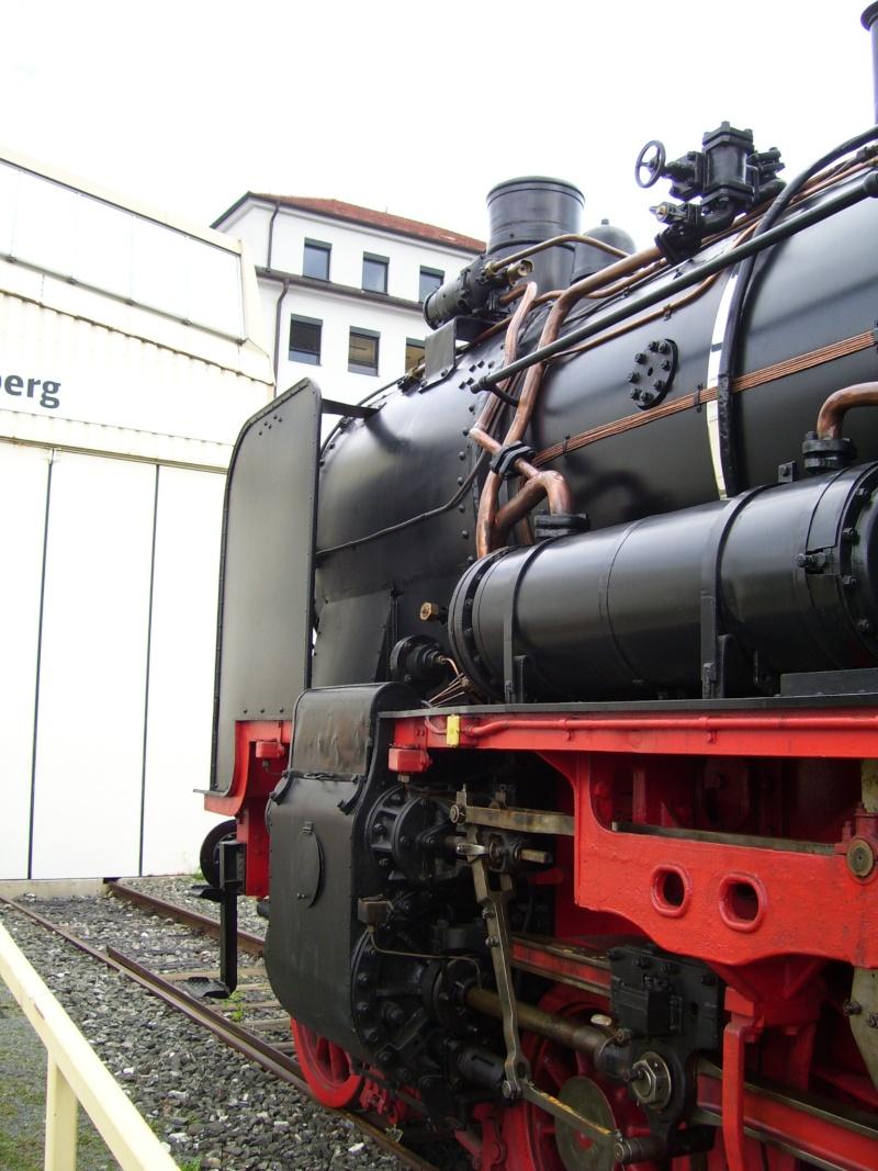 Fahrzeuge auf dem Außengelände im DB-Museum 38-1210