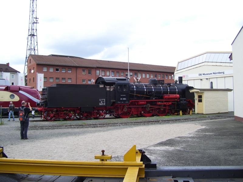 Fahrzeuge auf dem Außengelände im DB-Museum 38-1510