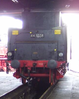 Die Dampflokbaureihe 44Öl - spätere DB 043 44-110