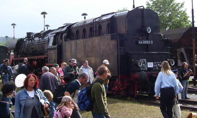 Die Dampflokbaureihe 44Öl - spätere DB 043 44-910