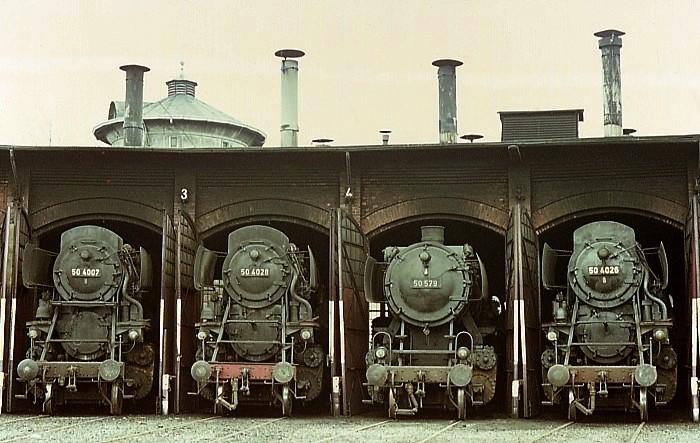 Die BR 50.40 der DB - die Franco-Crosti-Loks 50400710