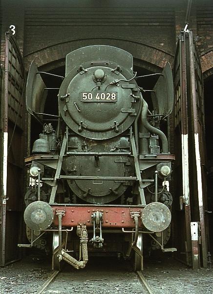 Die BR 50.40 der DB - die Franco-Crosti-Loks 50402810