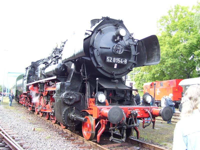 Die BR 52 - die Kriegslok - und BR 52.80 sowie Kohlestaub-52 52-210