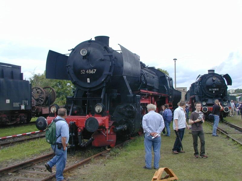 Die BR 52 - die Kriegslok - und BR 52.80 sowie Kohlestaub-52 52-2510