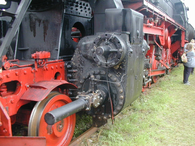 Die BR 52 - die Kriegslok - und BR 52.80 sowie Kohlestaub-52 52-2610