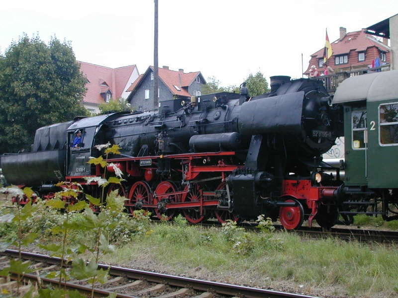 Die BR 52 - die Kriegslok - und BR 52.80 sowie Kohlestaub-52 52-3010