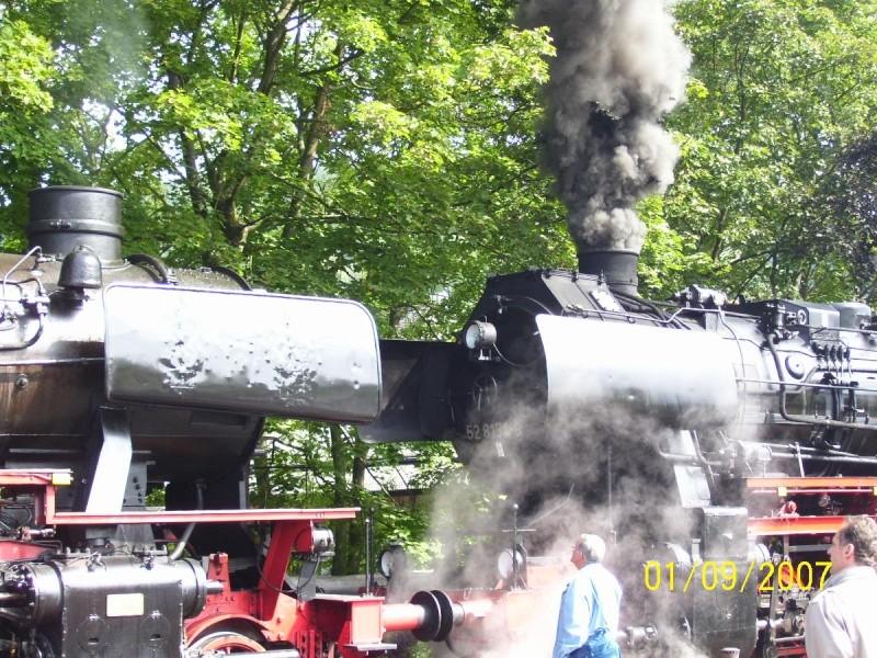 Die BR 52 - die Kriegslok - und BR 52.80 sowie Kohlestaub-52 5210