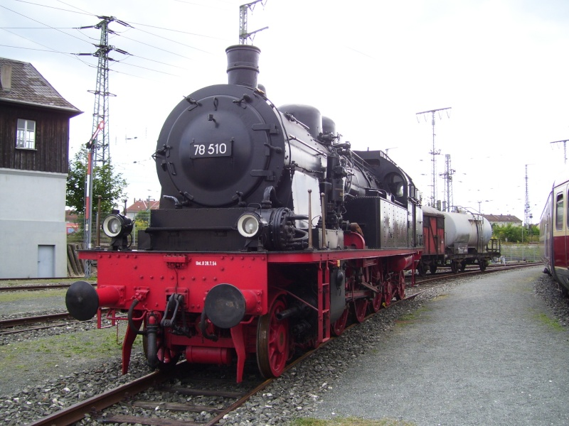Fahrzeuge auf dem Außengelände im DB-Museum 78-0110