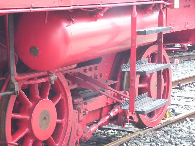 Fahrzeuge auf dem Außengelände im DB-Museum 78-1310