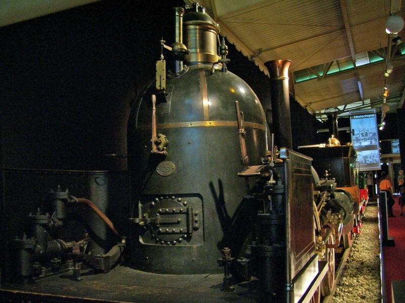 """Dampflok """"Beuth"""" - auf der Sonderausstellung in Nürnberg Beuth-10"""