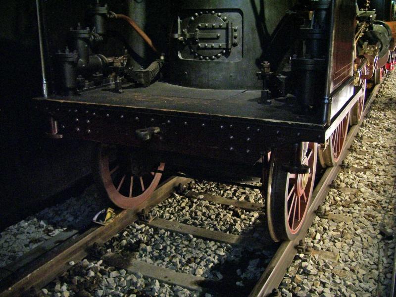 """Dampflok """"Beuth"""" - auf der Sonderausstellung in Nürnberg Beuth-11"""