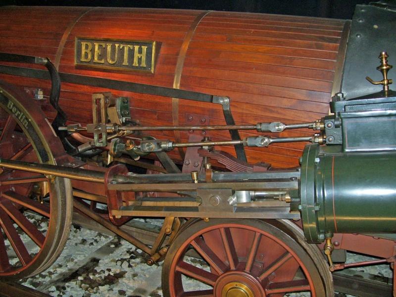 """Dampflok """"Beuth"""" - auf der Sonderausstellung in Nürnberg Beuth-15"""