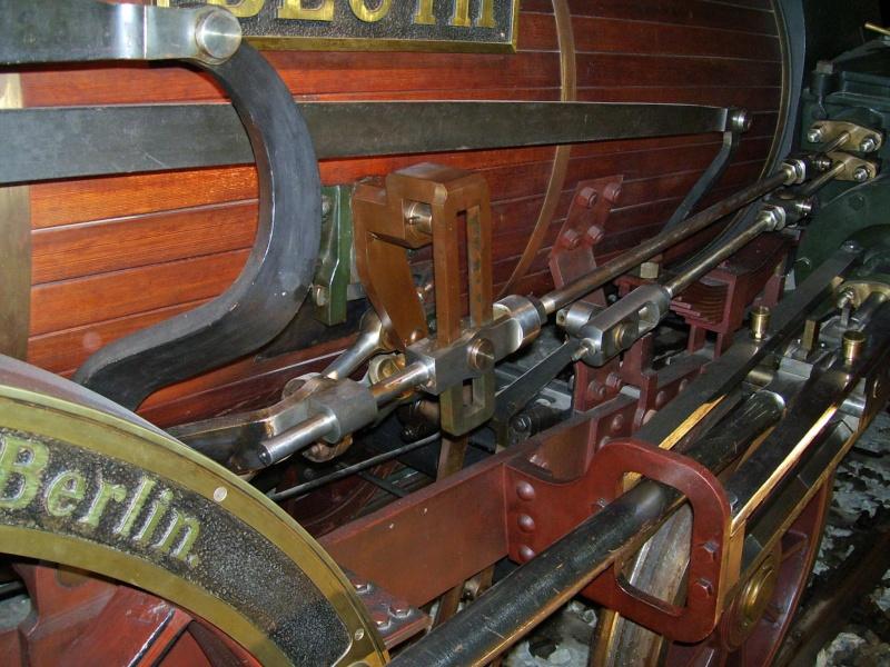 """Dampflok """"Beuth"""" - auf der Sonderausstellung in Nürnberg Beuth-16"""