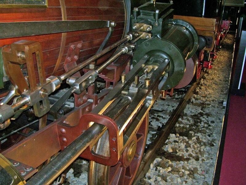 """Dampflok """"Beuth"""" - auf der Sonderausstellung in Nürnberg Beuth-19"""