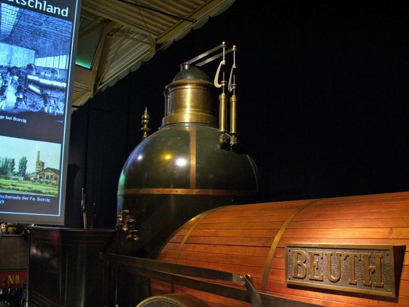 """Dampflok """"Beuth"""" - auf der Sonderausstellung in Nürnberg Beuth-32"""