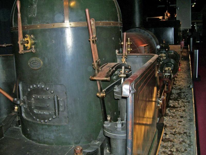"""Dampflok """"Beuth"""" - auf der Sonderausstellung in Nürnberg Beuth-35"""